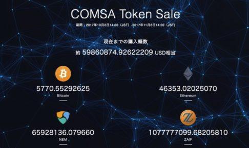 COMSA ICO金額
