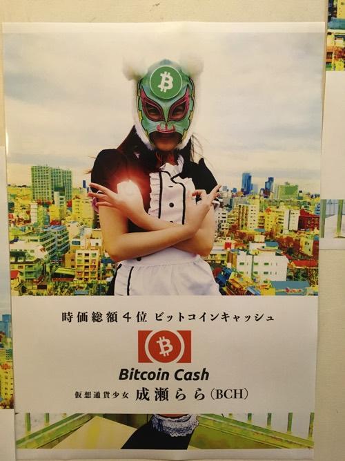 仮想通貨少女 ビットコインキャッシュ