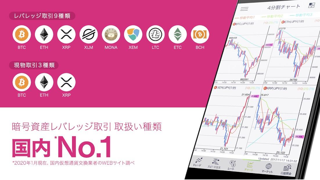 DMM Bitcoinアプリ