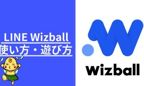 Wizball ウィズボール 使い方遊び方 ポイン