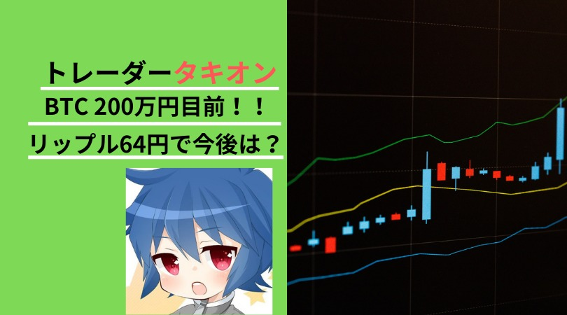 トレーダータキオン ビットコイン 半減期 仮想通貨 相場分析