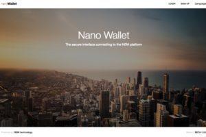nem nano wallet