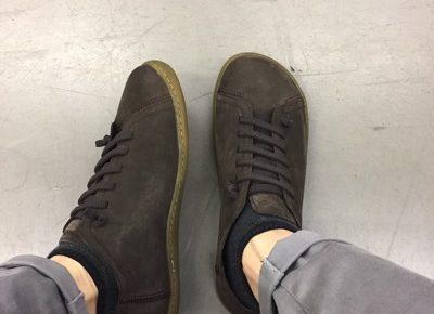 amazonで靴購入