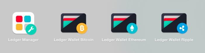 Ledger Nano Sウォレットアプリ