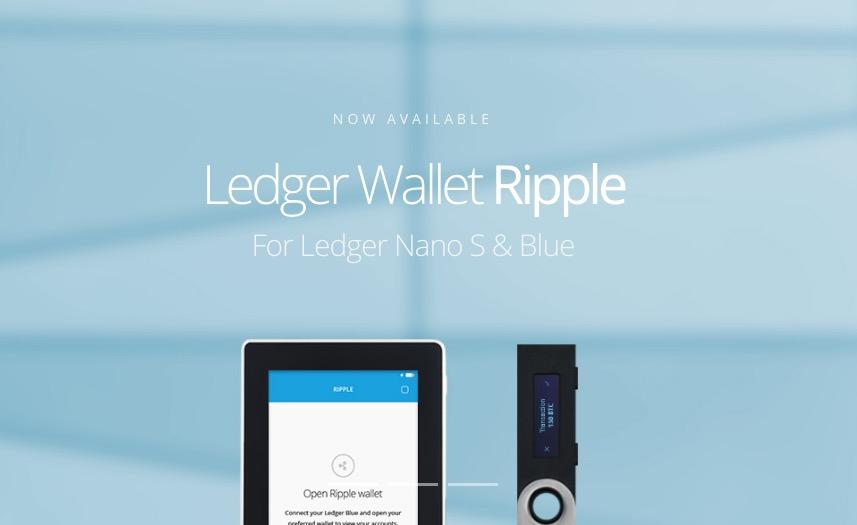 Ldger Walletサイトトップ
