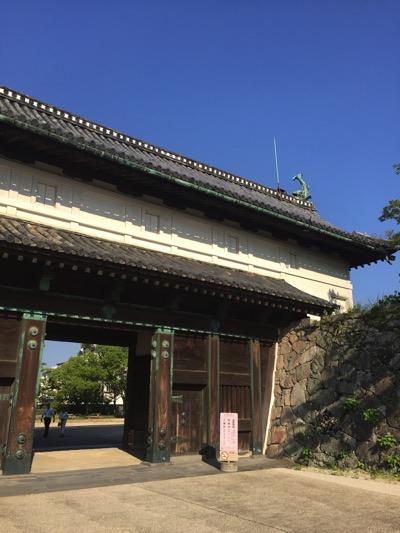 佐賀城 入り口